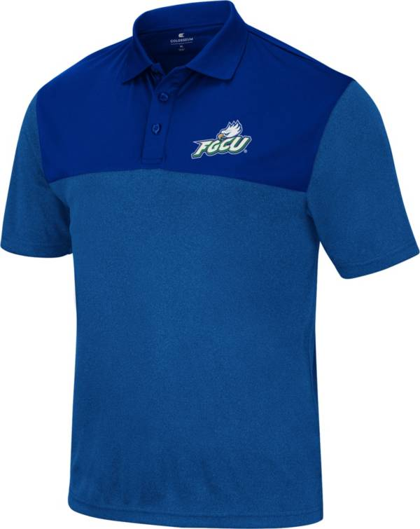 Colosseum Men's Florida Gulf Coast Eagles Colbalt Blue Polo product image