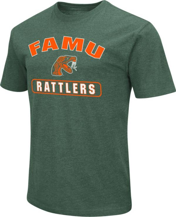 Colosseum Men's Florida A&M Rattlers Green Dual Blend T-Shirt product image