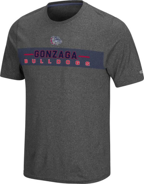 Colosseum Men's Gonzaga Bulldogs Grey Marty T-Shirt product image