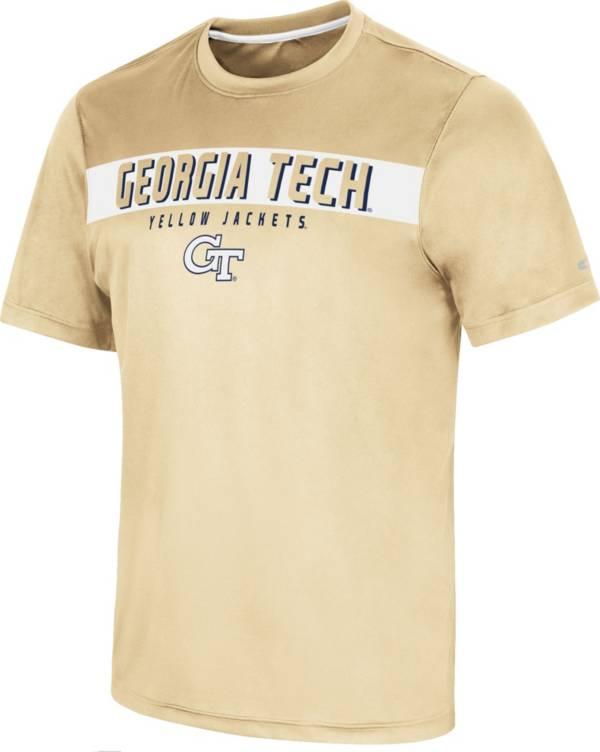 Colosseum Men's Georgia Tech Yellow Jackets Gold Mosbius T-Shirt product image