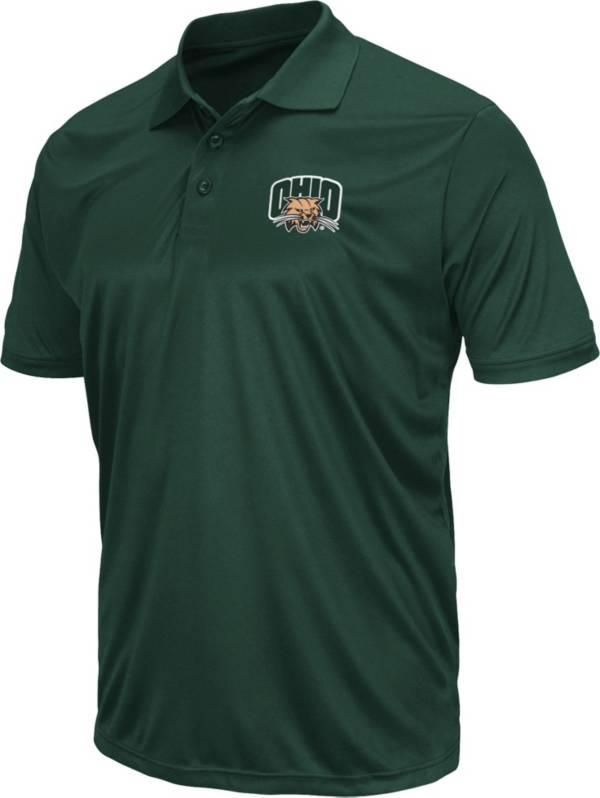 Colosseum Men's Ohio Bobcats Green Polo product image