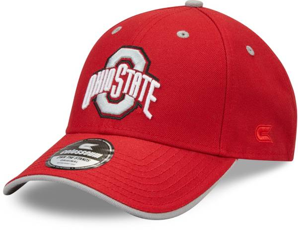Colosseum Men's Ohio State Buckeyes Scarlet Champ Adjustable Hat product image