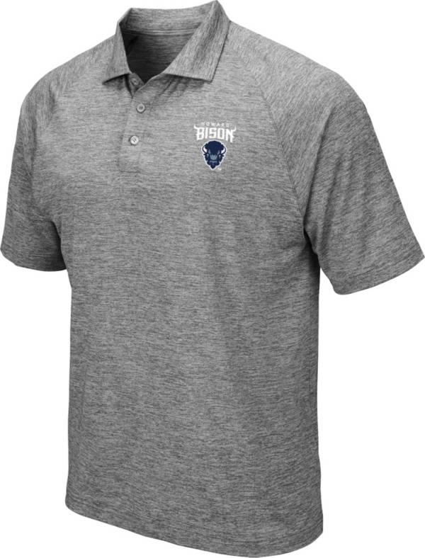 Colosseum Men's Howard Bison Grey Polo product image