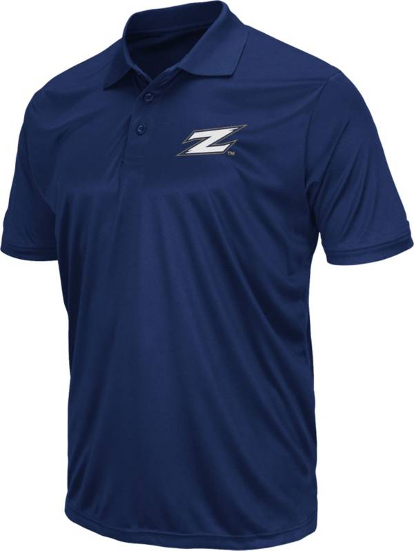 Colosseum Men's Akron Zips Navy Polo product image