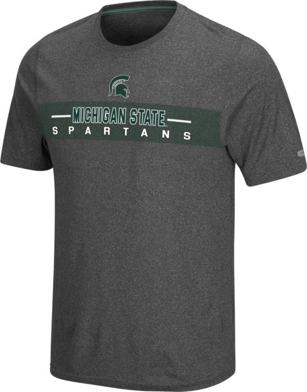 Colosseum Men's Michigan State Spartans Grey Marty T-Shirt product image