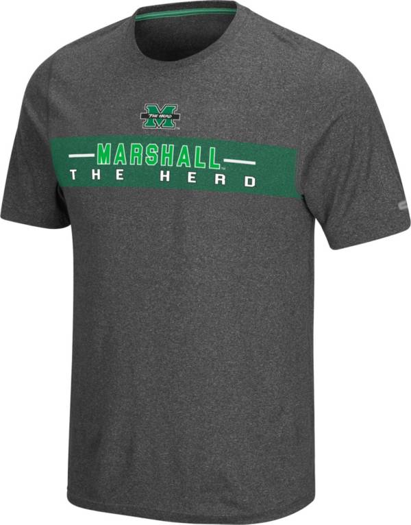 Colosseum Men's Marshall Thundering Herd Grey Marty T-Shirt product image