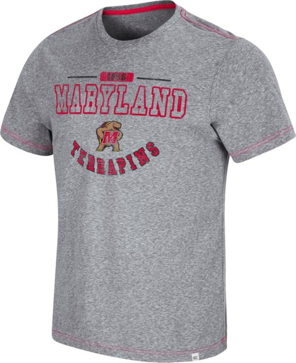 Colosseum Men's Maryland Terrapins Grey Tannen T-Shirt product image