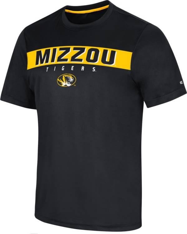 Colosseum Men's Missouri Tigers BLack Mosbius T-Shirt product image