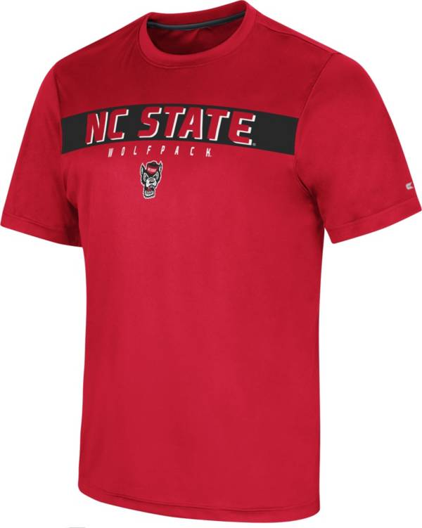 Colosseum Men's NC State Wolfpack Red Mosbius T-Shirt product image