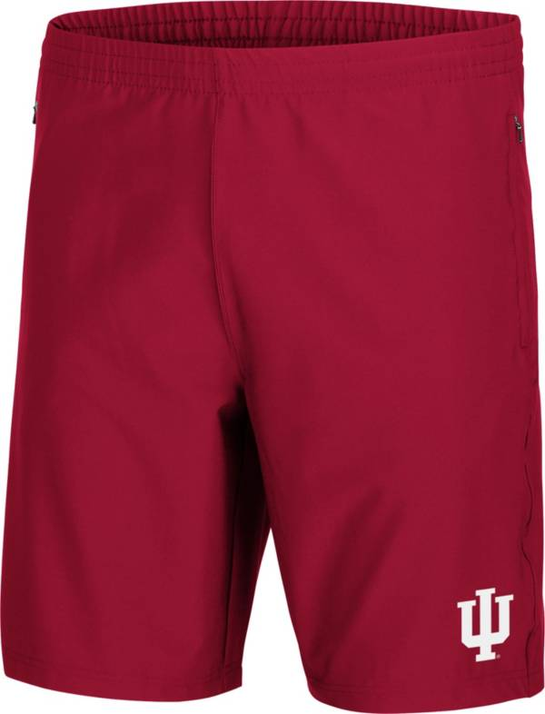 Colosseum Men's Indiana Hoosiers Crimson 88 MPH Shorts product image