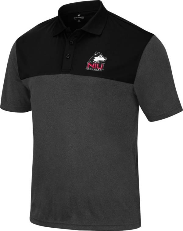 Colosseum Men's Northern Illinois Huskies Black Polo product image