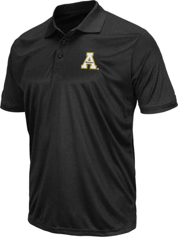 Colosseum Men's Appalachian State Mountaineers Black Polo product image