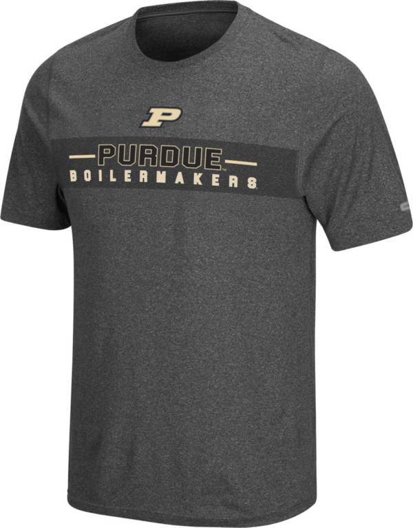 Colosseum Men's Purdue Boilermakers Grey Marty T-Shirt product image