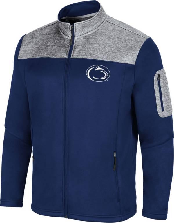 Colosseum Men's Penn State Nittany Lions Blue Third Wheel Full-Zip Jacket product image