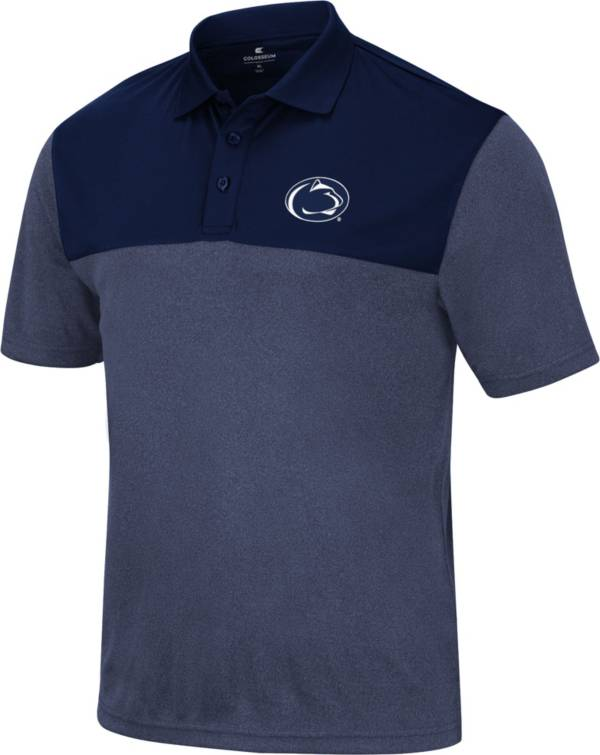 Colosseum Men's Penn State Nittany Lions Blue Polo product image