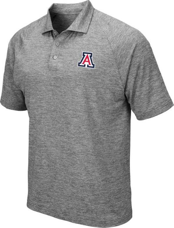 Colosseum Men's Arizona Wildcats Grey Polo product image