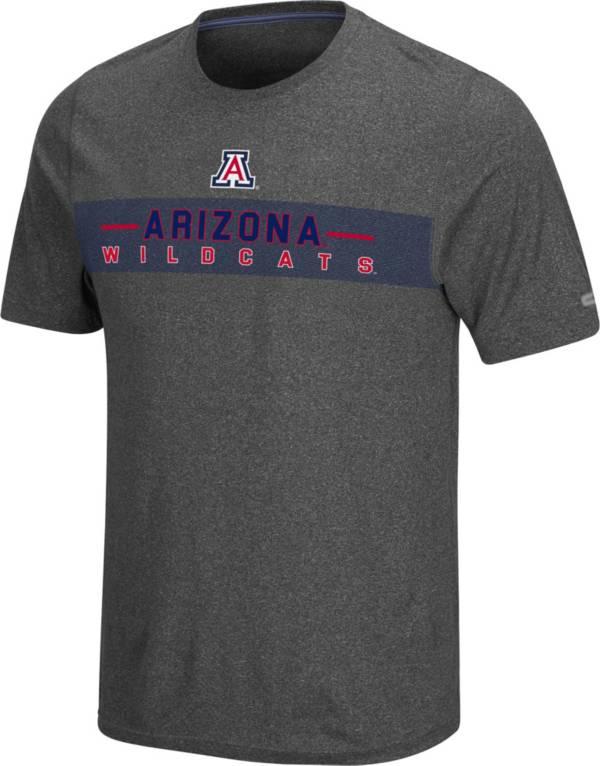 Colosseum Men's Arizona Wildcats Grey Marty T-Shirt product image