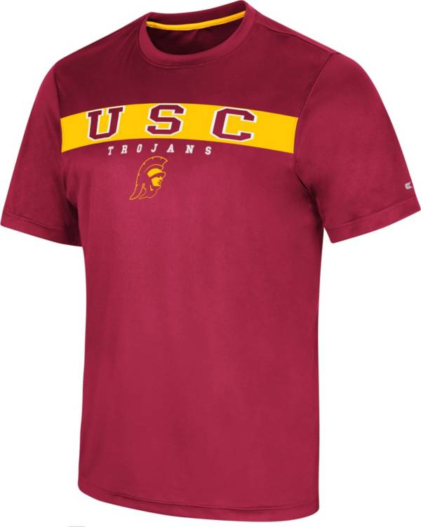 Colosseum Men's USC Trojans Cardinal Mosbius T-Shirt product image
