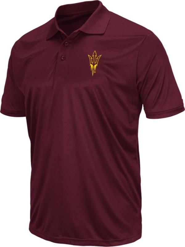 Colosseum Men's Arizona State Sun Devils Maroon Polo product image