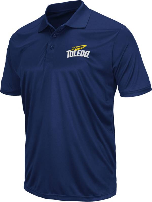Colosseum Men's Toledo Rockets Midnight Blue Polo product image