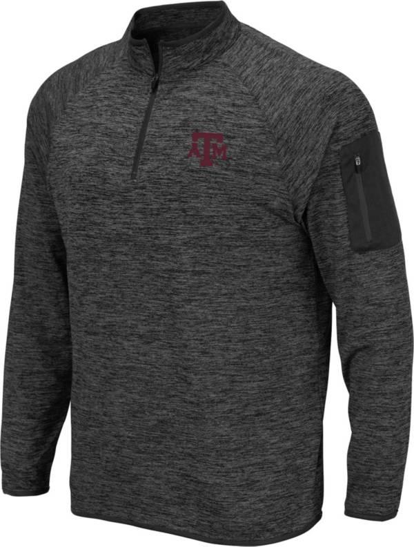 Colosseum Men's Texas A&M Aggies Grey Quarter-Zip Shirt product image