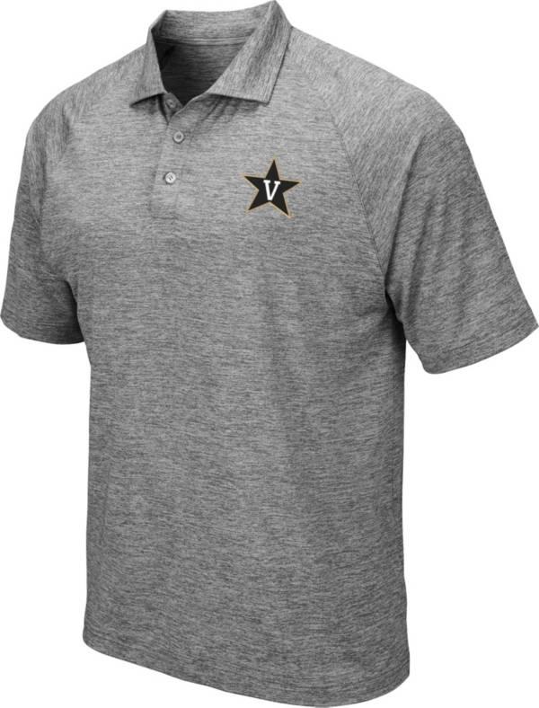 Colosseum Men's Vanderbilt Commodores Grey Polo product image