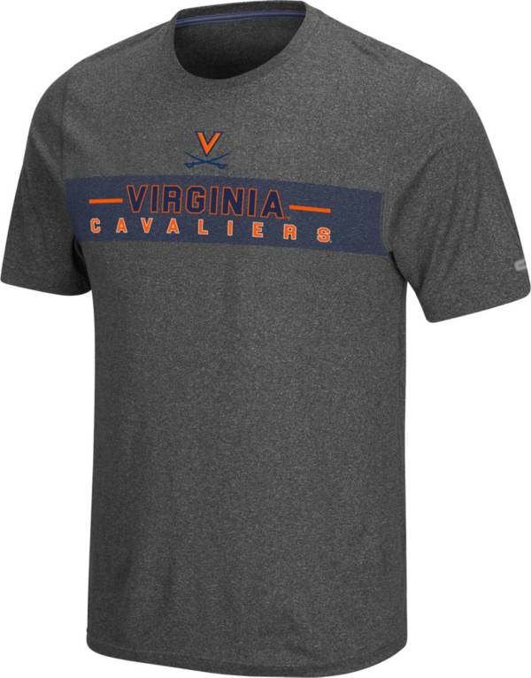 Colosseum Men's Virginia Cavaliers Grey Marty T-Shirt product image