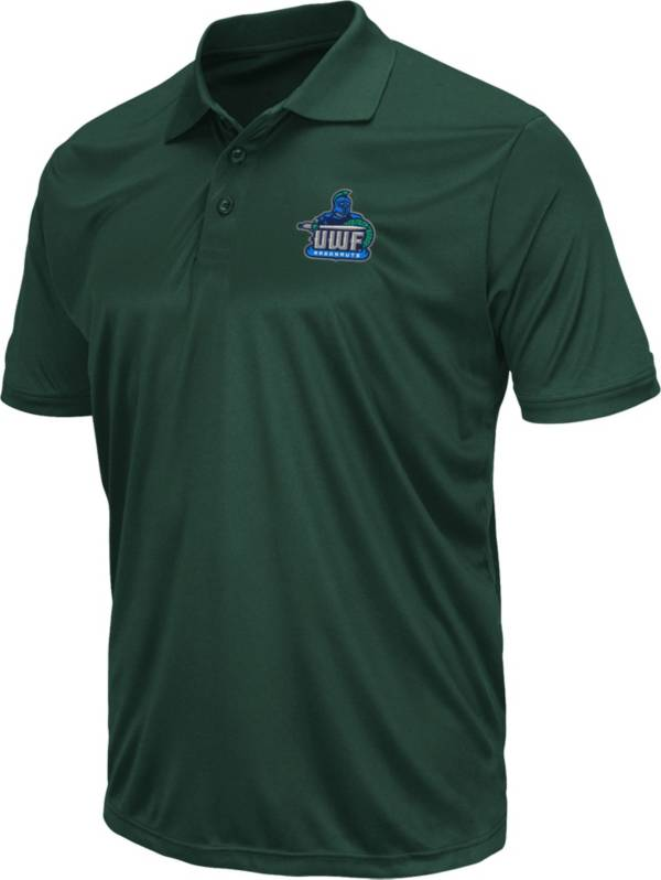 Colosseum Men's West Florida Argonauts Kelly Green Polo product image