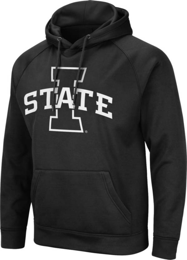 Colosseum Men's Iowa State Cyclones Black Pullover Hoodie product image