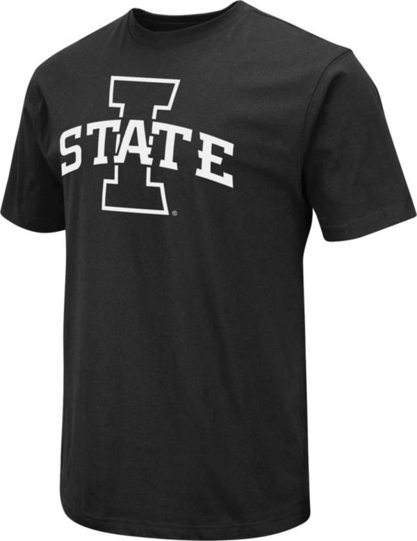 Colosseum Men's Iowa State Cyclones Black Dual Blend T-Shirt product image