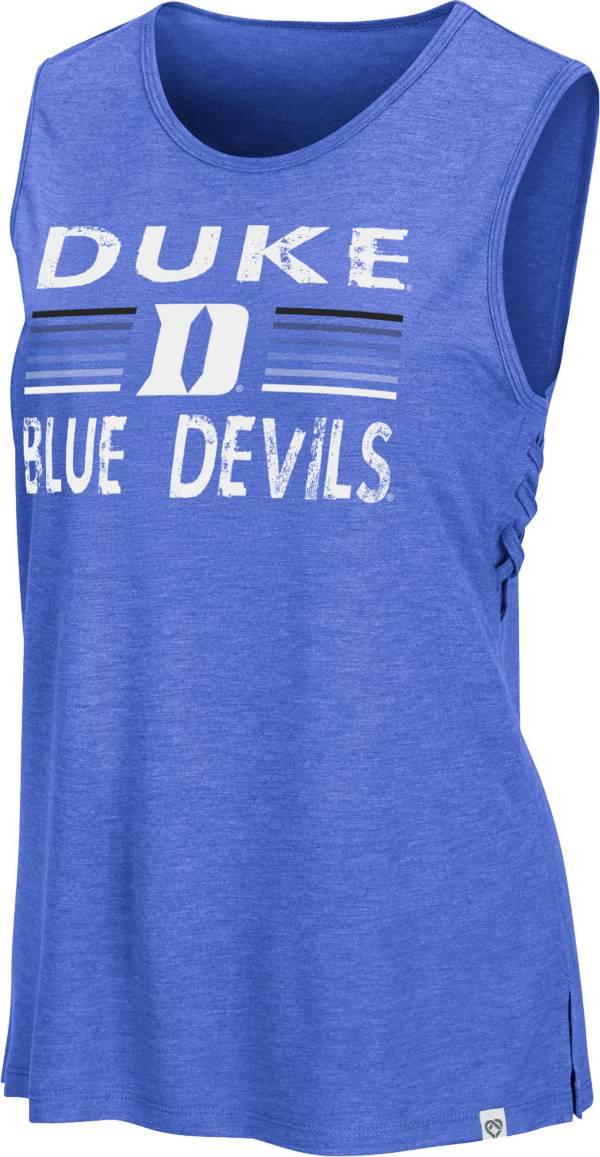 Colosseum Women's Duke Blue Devils Duke Blue Coach Carr Tank Top product image