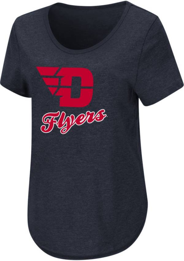 Colosseum Women's Dayton Flyers Blue T-Shirt product image