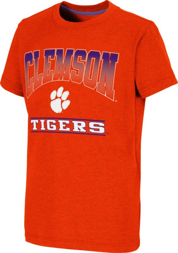 Colosseum Youth Clemson Tigers Orange Toffee T-Shirt product image