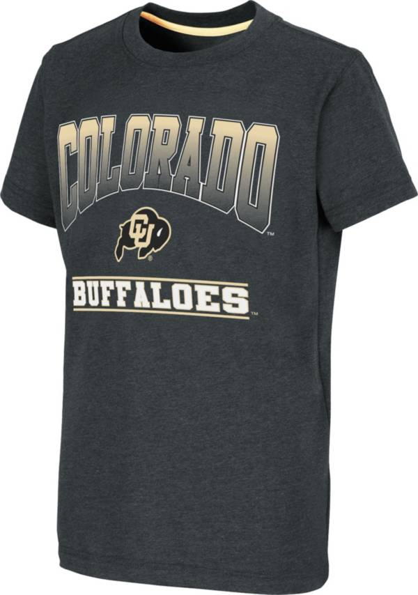 Colosseum Youth Colorado Buffaloes Black Toffee T-Shirt product image