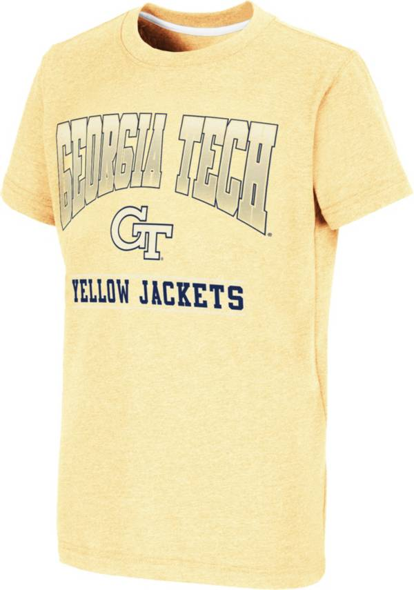 Colosseum Youth Georgia Tech Yellow Jackets Gold Toffee T-Shirt product image