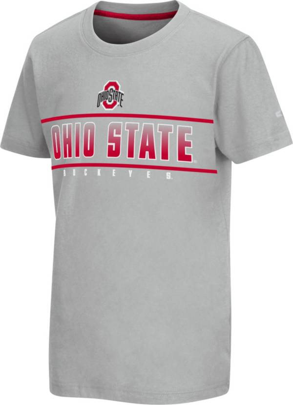 Colosseum Youth Ohio State Buckeyes Gray Snozzberry T-Shirt product image