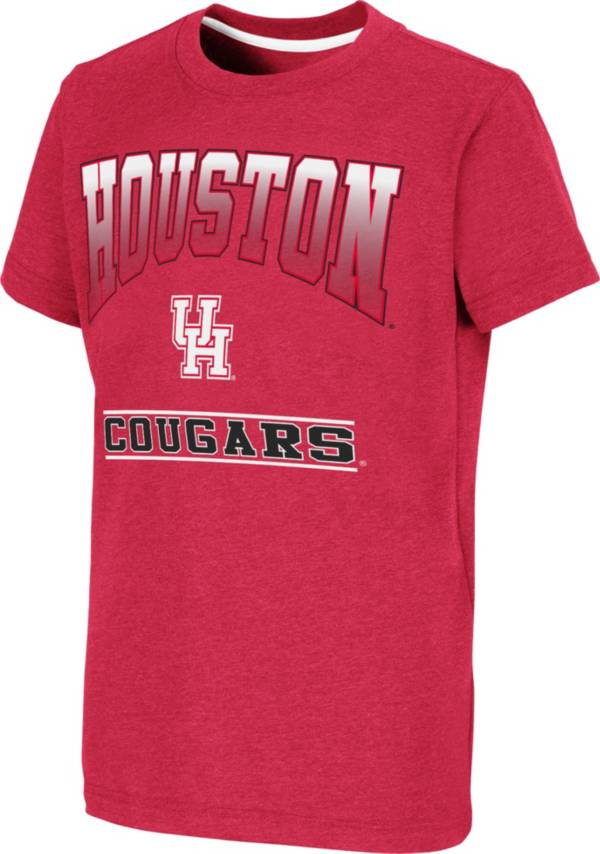 Colosseum Youth Houston Cougars Red Toffee T-Shirt product image