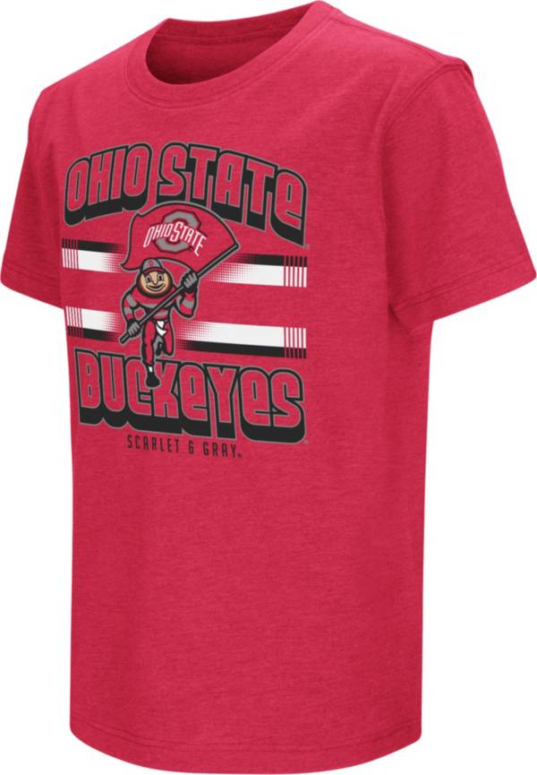 Colosseum Youth Ohio State Buckeyes Scarlet Playbook T-Shirt product image