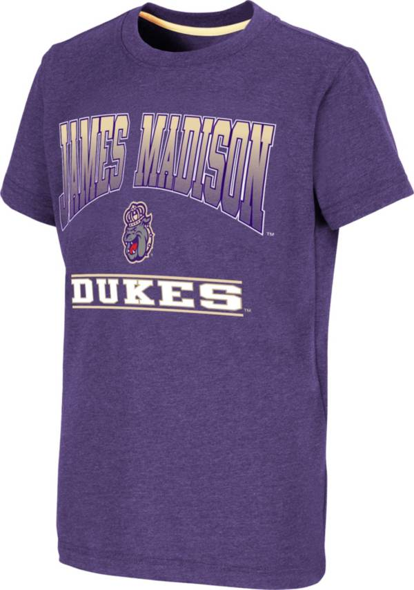 Colosseum Youth James Madison Dukes Purple Toffee T-Shirt product image