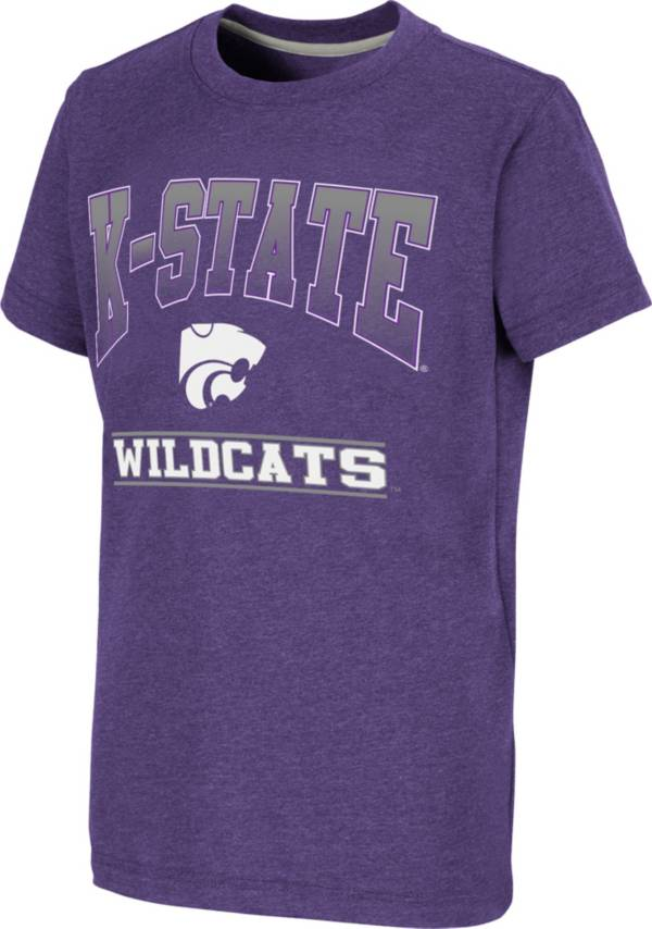 Colosseum Youth Kansas State Wildcats Purple Toffee T-Shirt product image