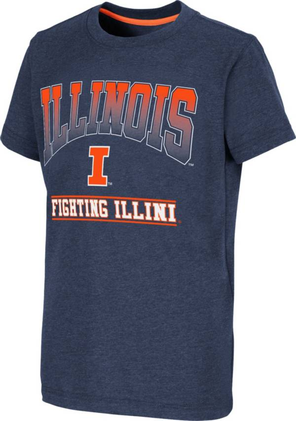 Colosseum Youth Illinois Fighting Illini Blue Toffee T-Shirt product image