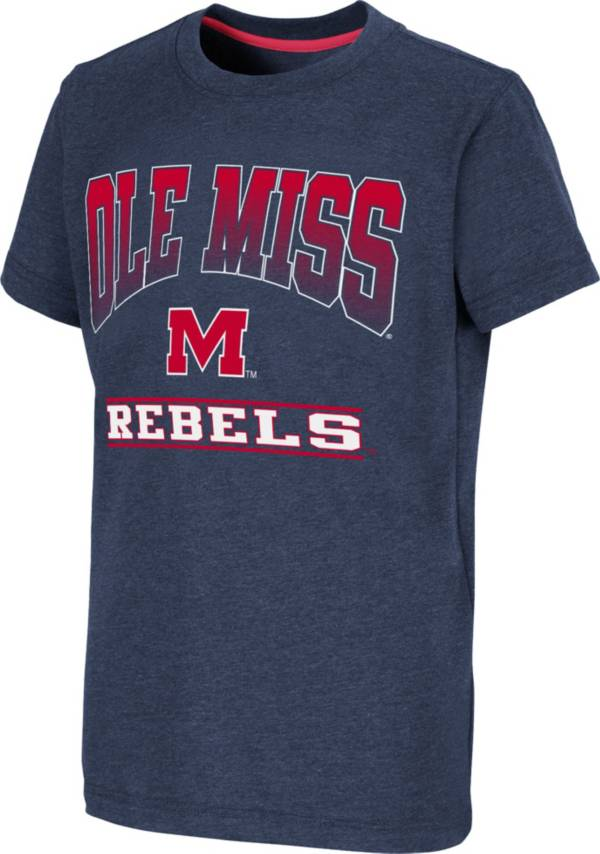 Colosseum Youth Ole Miss Rebels Blue Toffee T-Shirt product image