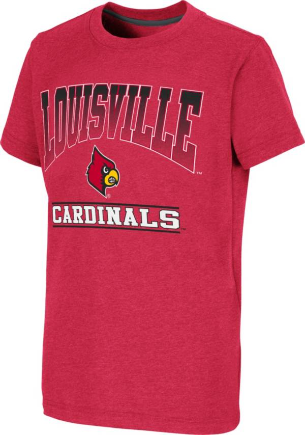 Colosseum Youth Louisville Cardinals Cardinal Red Toffee T-Shirt product image