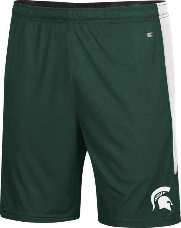 Colosseum Youth Michigan State Spartans Green Jigawatts Shorts product image