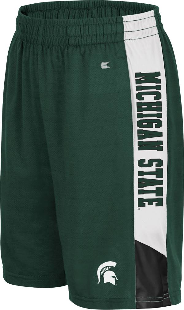 Colosseum Youth Michigan State Spartans Green Wonkavision Shorts product image