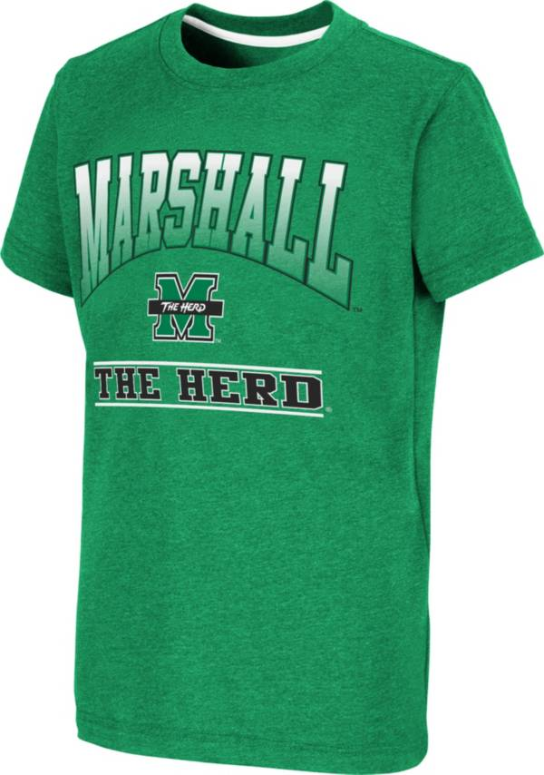 Colosseum Youth Marshall Thundering Herd Green Toffee T-Shirt product image
