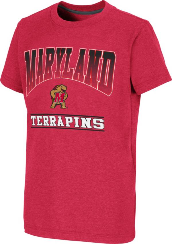 Colosseum Youth Maryland Terrapins Red Toffee T-Shirt product image