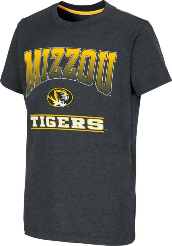 Colosseum Youth Missouri Tigers Black Toffee T-Shirt product image