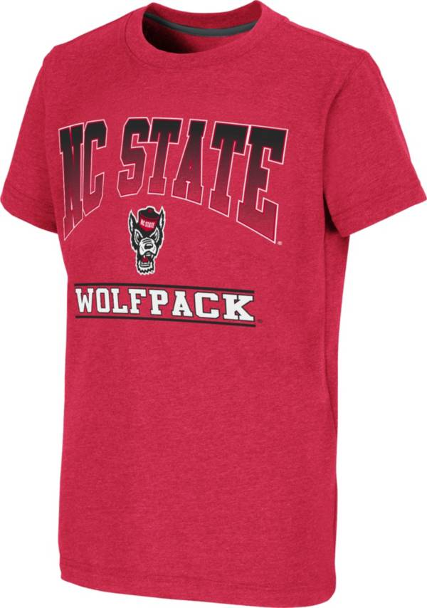 Colosseum Youth NC State Wolfpack Red Toffee T-Shirt product image