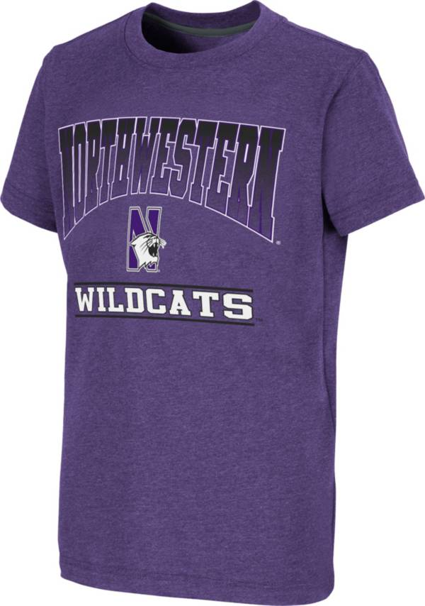 Colosseum Youth Northwestern Wildcats Purple Toffee T-Shirt product image